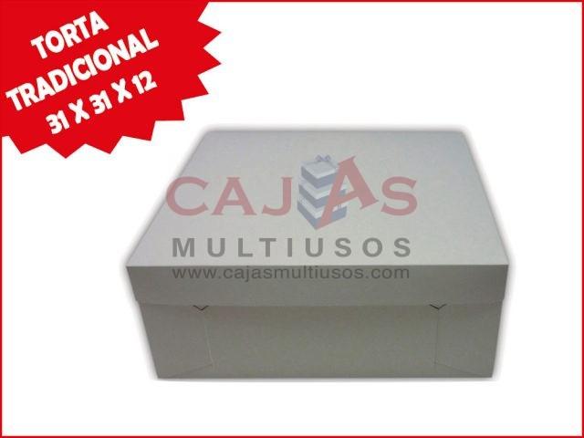 CAJA  TORTA TRADICIONAL 31 X 31 X 12