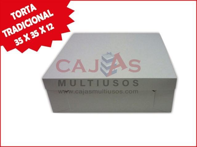 CAJA TORTA TRADICIONAL 35 X 35 X 12