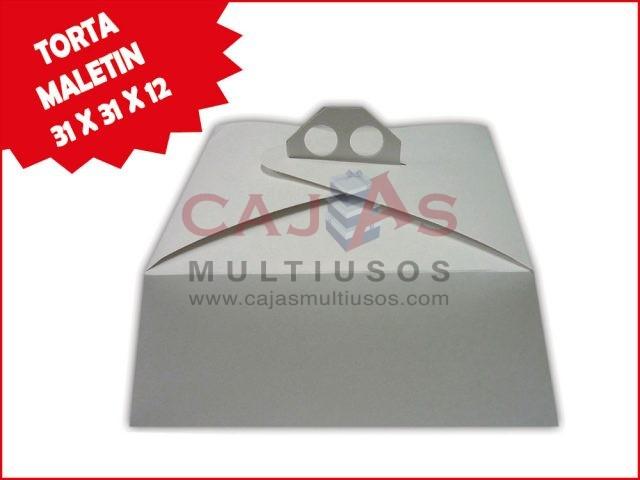 CAJA TORTA MALETIN 31 X 31 X 12