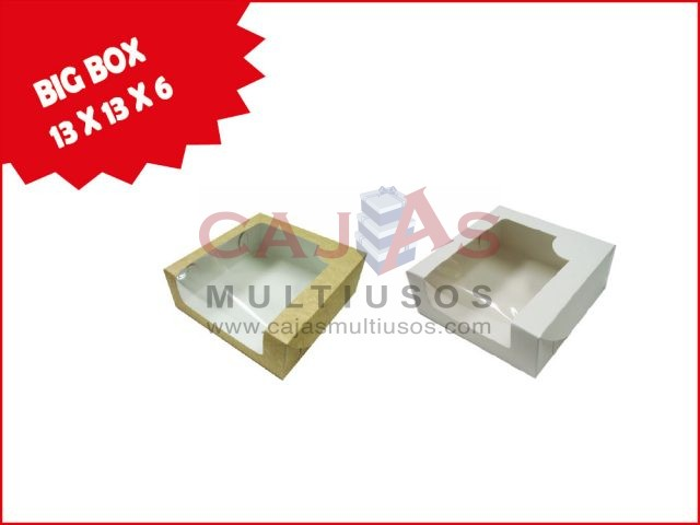 BIG BOX VENTANA 13 X 13 X 6