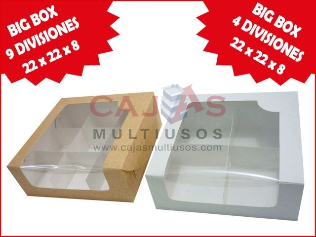 NUEVA BIG BOX 22 CON DIVISIONES