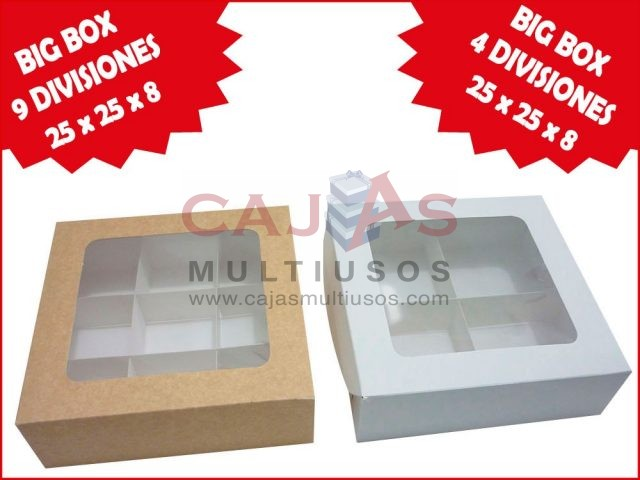 NUEVA BIG BOX 25 CON DIVISIONES