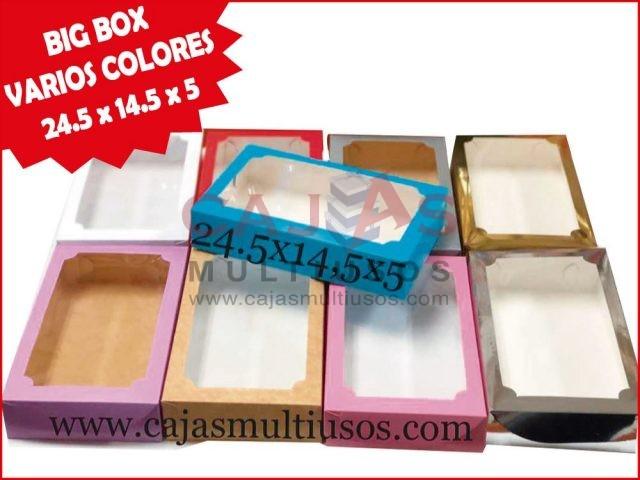 BIG BOX 24.5 VARIOS COLORES