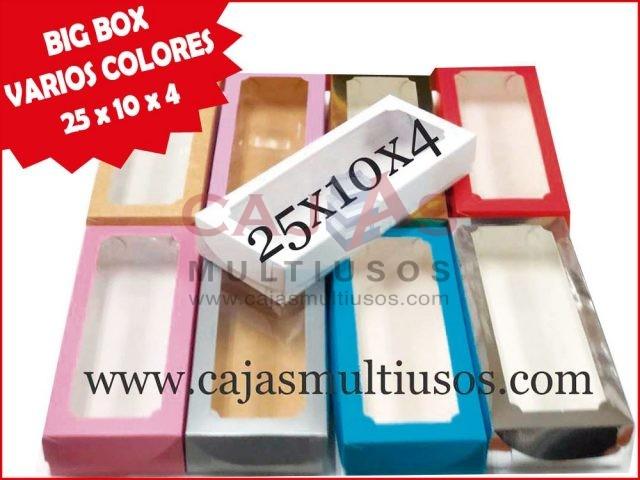 BIG BOX 25 VARIOS COLORES